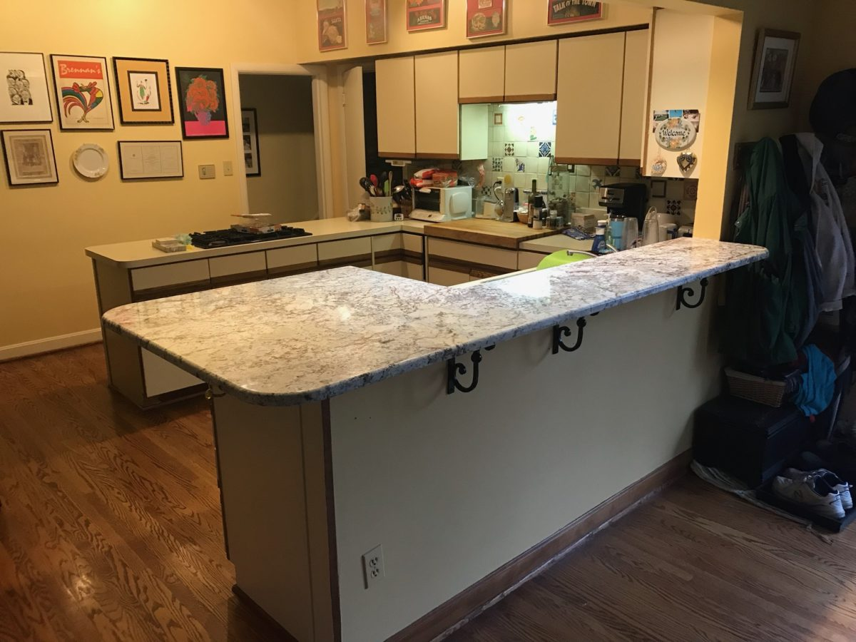 WHITE SPRINGS GRANITE UPPER BAR TOP